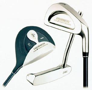 美国液态金属公司用vitreloy材料制造的高尔夫球杆击球头